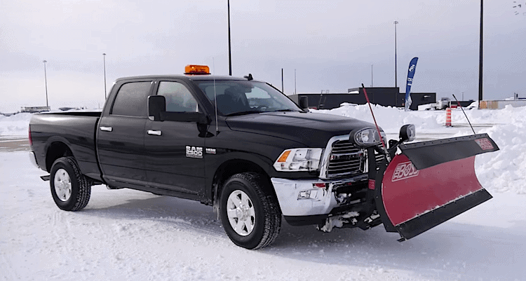 Top 10 Pick-Up Trucks For Plowing