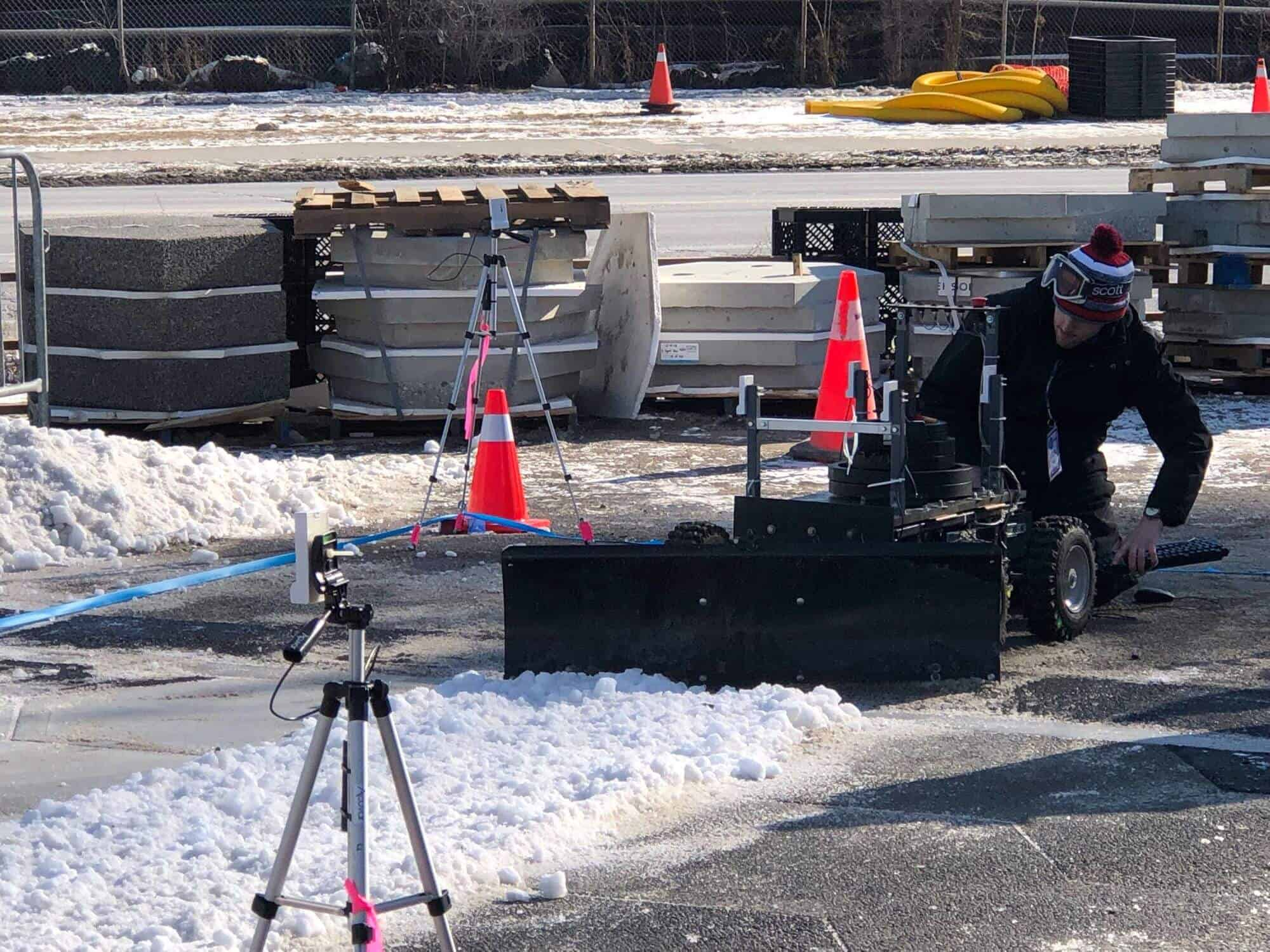 The autonomous snowplow competition at Google Sidewalk Labs